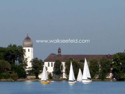The Fraueninsel on the Chiemsee