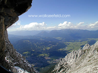 View above Mittenwald