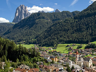 Spectacular scenery of the Val Gardena