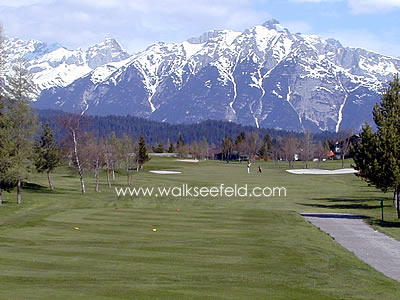 The golf academy in Seefeld