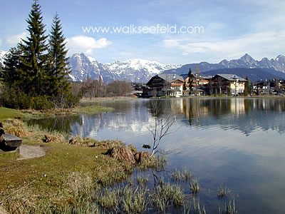 The Wildsee in Seefeld